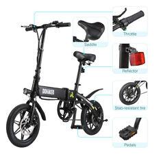 Bici Bicicletta Elettrica Pieghevole 250W 25km/h Città E-Bike Elettrico LED LCD