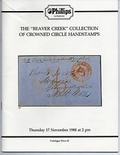 """The """"Beaver Creek"""" Collection of Crowned Circle Handstamps - Phillips 11/98"""