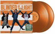 BLINDED BY THE LIGHT LP SOUNDTRACK BRUCE SPRINGSTEEN ORANGE VINYL 2-LP