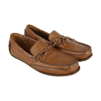 Clarks Benero Edge 26131556 Mens Tan Brown Leather Deck Casual Boat Shoes