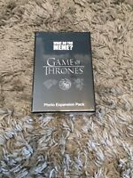 What Do You Meme Game Of Thrones Photo Expansion Pack New Sealed