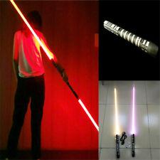 2in1 Star Wars Sword Lightsaber Dueling Force 16 Colors Metal Hilt DHL Ship