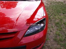 Mazda 3 MK1 03-09 las cejas faros Spoiler lightbrows Ojo Tapas Cejas HB MPS