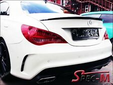 CLA200 CLA250 CLA45 AMG 696 Black Tail Spoiler Lip Wing Mercedes Benz C117 2013+