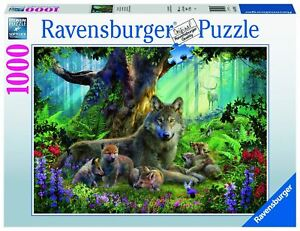 Ravensburger - Wolves in the Forest 1000pc - Jigsaw Puzzle