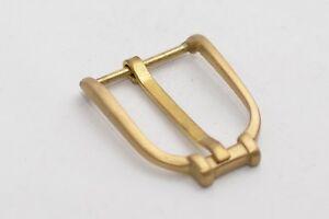Solide Schnalle Gürtelschnalle für ca. 30 mm Breite, Gold (matt), Klassisch
