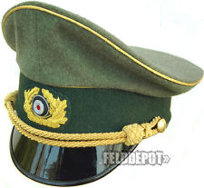 WK2 WH Schirmmütze General Wehrmacht 60cm Visor Cap WWII