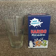 Haribo Milchbaren Collectible Glass Sweets Candy BNIB