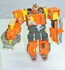 Transformers Voyager Class QUICKMIX Cybertron Cement Mixer Orange 2005  Figure
