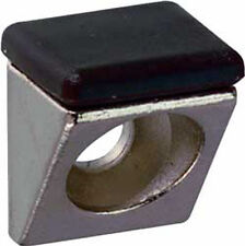 Paquet de 20 Amorti Fixation à vis 10mm SUPPORT D'Etagère avec coussin