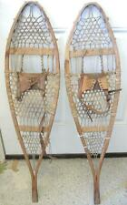 1920s Antique Lady's or Child's Indian Snowshoes For Display or Restoration