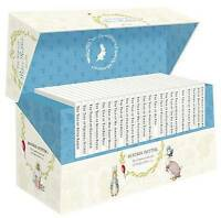 Beatrix Potter Peter Rabbit Library Jackets 23 Books Collection Box Set,New