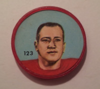 Nally's Chips (1963) - CFL Picture Discs - Tony Pajaczkowski - #123 of 150