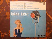 """25cm 10""""  ISABELLE AUBRET - Un Premier Amour / Philips B 76.549 R (1962)  Mono"""