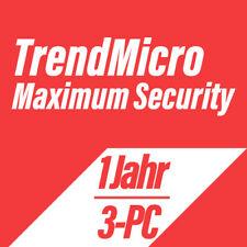 Trend Micro Titanium Maximum Security 2019 VOLLVERSION DEUTSCH - 3PC für 1 Jahr