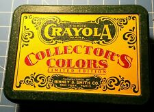 1990 Crayola Collector's and Retired Colors Limited Edition Tin- Mint Condition!