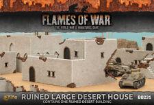 Flames of War Nuevo Y En Caja arruinado Grande Casa del desierto BB231