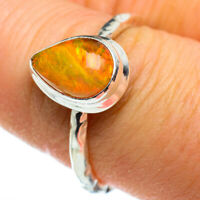 Ethiopian Opal 925 Sterling Silver Ring Size 8 Ana Co Jewelry R46461F