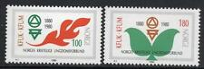 NORWAY MNH 1980 The 100th anniversary of the YWCA and the YMCA
