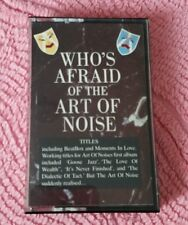 THE ART OF NOISE WHO'S AFRAID OF THE ART OF NOISE CASSETTE