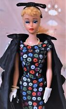 "Lovely Vintage Blond #4 Ponytail Barbie""Easter Parade"" #971 1959 Complete Extras"