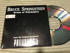 BRUCE SPRINGSTEEN SPANISH CD SINGLE SPAIN STREETS OF PHILADELPHIA PROMO CARD SLV