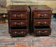 Antique Style 60cm-80cm 3 Chests of Drawers