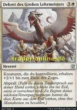 2x Dekret des Großen Lehrmeisters (Great Teacher's Decree) Dragons of Tarkir Mag