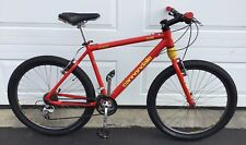 Cannondale F500 Mens Mountain Bike Red Large Hardtail Headshock CAD2 NICE
