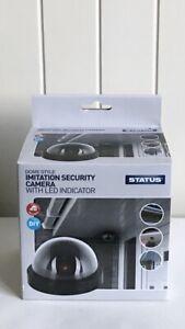 Status Imitation CCTV LED Dome Shaped Security Camera. Brand New