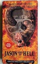 # Jason Goes To Hell: The Final Friday VHS 1993 Unrated Director's Cut Horror