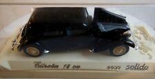SOLIDO - CITROEN 15 CV 1/43 ref 4032 negra serie la edad de oro