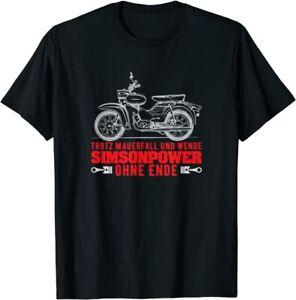 Trotz Wende Simson-Power Ohne Ende DDR Simson Star T-Shirt
