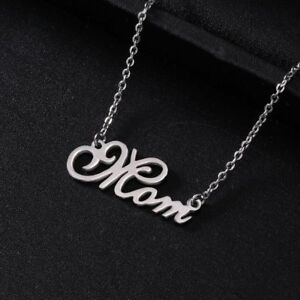 Stainless Steel Mom Necklace 623