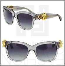 Dolce & Gabbana Enchanted Beauties Transparent Grey Sunglasses DG 4247B 4247