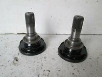 BMW E36 328 323 diff output flanges pair, very nice
