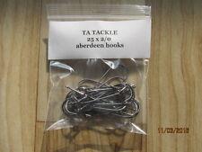 25 x 2/0  Aberdeen Sea Fishing Hooks