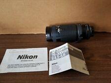 Nikon AF Nikkor 75-300mm F/4.5-5.6 Zoom Lens