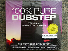 100% Pure dubstep Vol. 2 * mixed by DJ Hatcha * The Very Best Of Dubstep * 3 CD