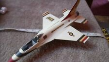 GENERAL DYNAMICS F-16 FIGHTING FALCON 1/48 SCALE SPARES OR REPAIR BUILT