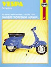 Vespa Scooter V9SS Racer VMA1 VMA2 312L2 Sportique 90 125 145 Manuale Haynes