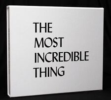 Pet Shop Boys The Most Incredible Thing Limited Edition of Art & Vinyl Box #194