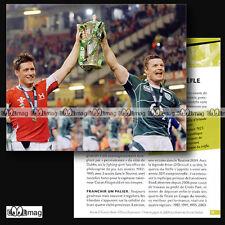 #CRP.055 Fiche Rugby ★ IRELAND RUGBY UNION TEAM ★ Photo O'GARA & O'DRISCOLL 2009