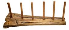 Didgeridoo Display Ständer aus Wurzelholz für sechs Didges Aufbewahrung Halt