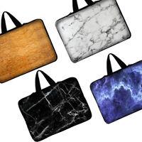 Marble Grain Sleeve Case Laptop Bag Notebook Cover For MacBook HP Dell Lenovo