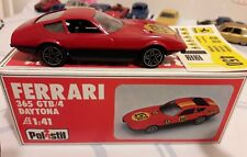 FERRARI 365 GTB/4 DAYTONA POLISTIL E 2002 1/40 MB MINT BOX 1981 # 450 DECALS