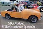 MG Midget Car Sales Brochure 1971 2864/A