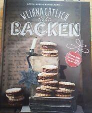 Backbuch Weihnachtlich Backen