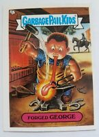 GARBAGE PAIL KIDS 7A FORGED GEORGE STICKER CARD WITH PUZZLE PIECE GPK-33