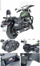 borse bisacce SHADOW VT600 DRAGSTAR MARAUDER VIRAGO INTRUDER DRAG STAR ROYAL